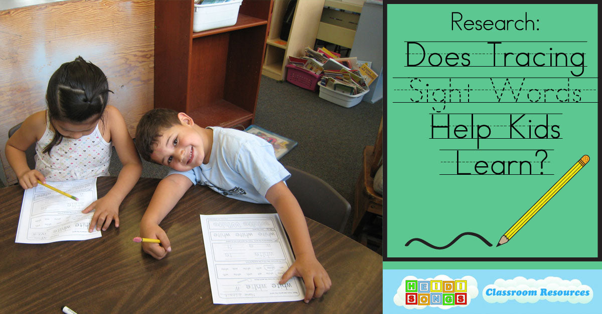 Does Tracing Sight Words Help Children Learn?