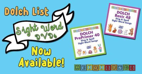 Dolch List Sight Word Videos Now Available!
