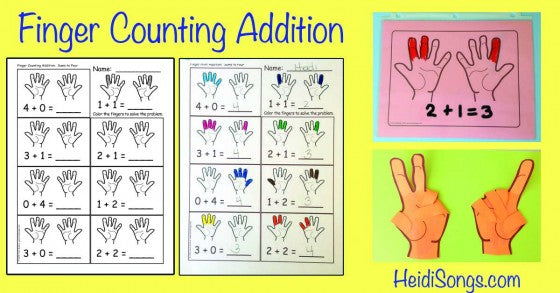 Finger Counting Addition!
