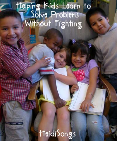 Helping Kids Learn to Solve Problems Without FIGHTING
