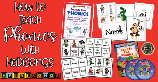 How to Teach Phonics with HeidiSongs