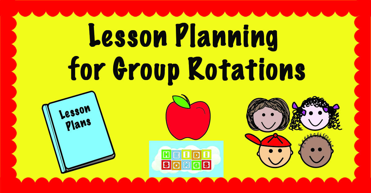 Lesson Planning for Group Rotations