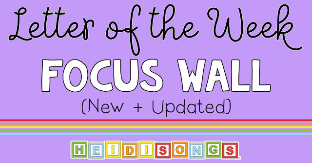 Letter of the Week Focus Wall