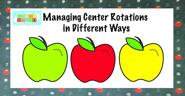Managing Center Rotations in Different Ways