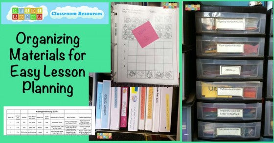 Organizing Materials for Easy Lesson Planning