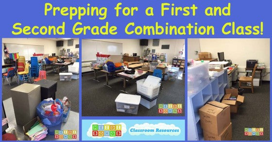 Prepping for a First & Second Grade Combination Class!