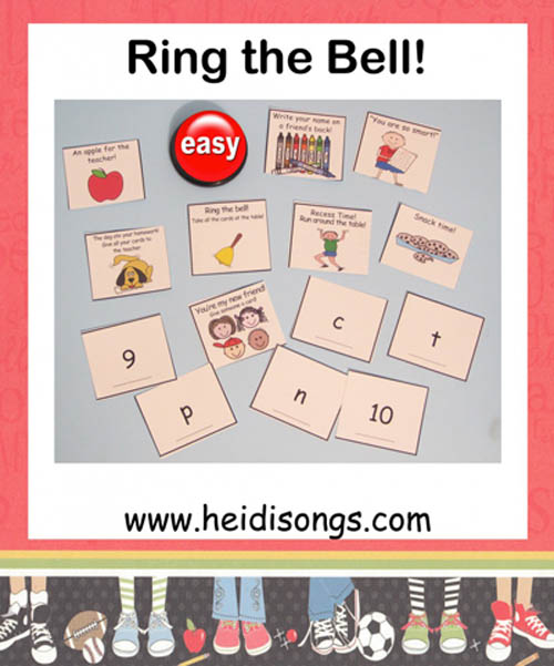 Ring the Bell! A GREAT Game for the Beginning of the School Year!