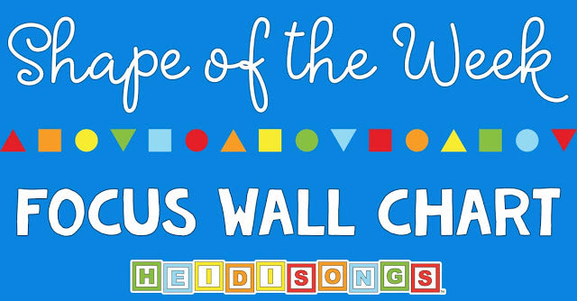 Shape of the Week Focus Wall Chart!