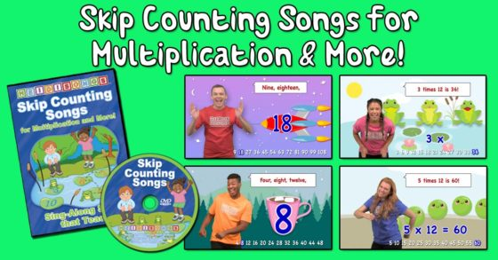 Skip Counting Songs for Multiplication & More!