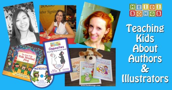 Teaching Kids About Authors & Illustrators