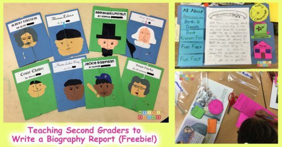 Teaching Second Graders to Write a Biography Report