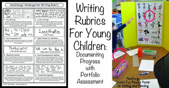 Writing Rubrics for Young Children: Documenting Progress with Portfolio Assessment