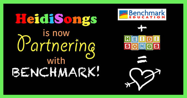 HeidiSongs is Now Partnering with BENCHMARK!