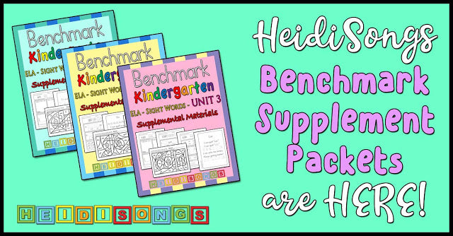 HeidiSongs Benchmark Supplement Packets are HERE!