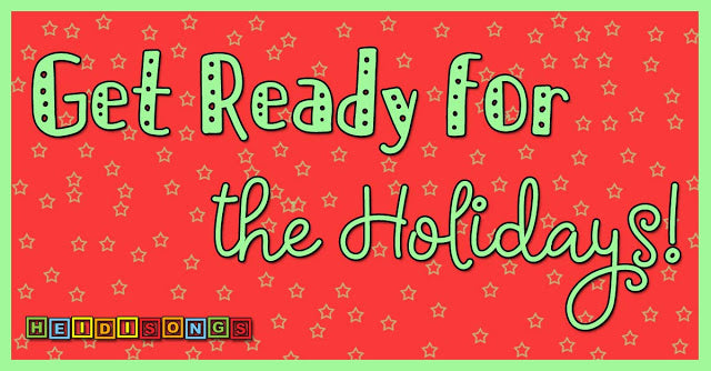 Get Ready For The Holidays! - Week #14