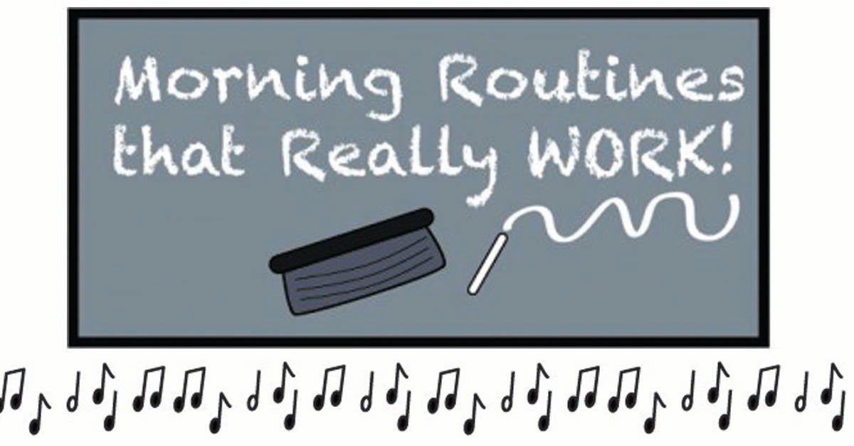 Morning Routines That Really Work for Pre-K and Kindergarten!