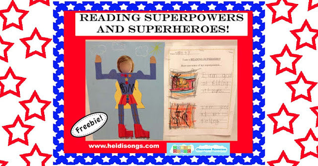 Reading Superpowers and Superheroes!