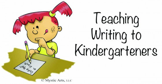 Teaching Writing to Kindergartners
