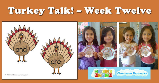 Turkey Talk! - Week #12