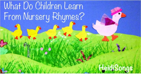 What Do Children Learn From Nursery Rhymes?