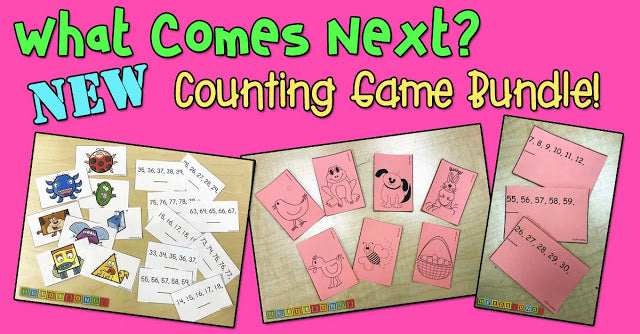 What Comes Next? NEW Counting Game Bundle!