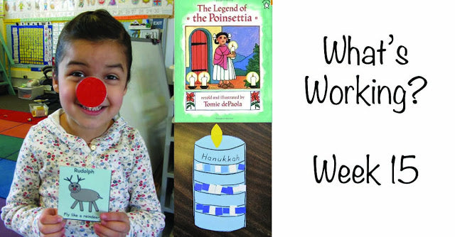 Teaching Kindergarten: What's Working? - Week #15