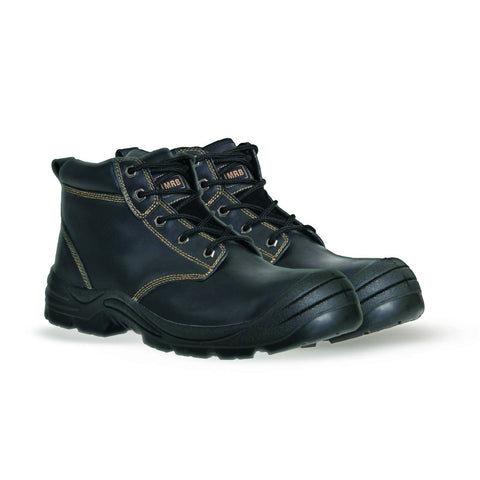 MRB Lace Up Safety Boots- Black