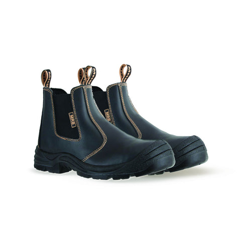MRB Slip On Safety Boots- Black