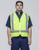 Hi Vis Day/ Night Over Vest (VDDNOV-YE/FW)