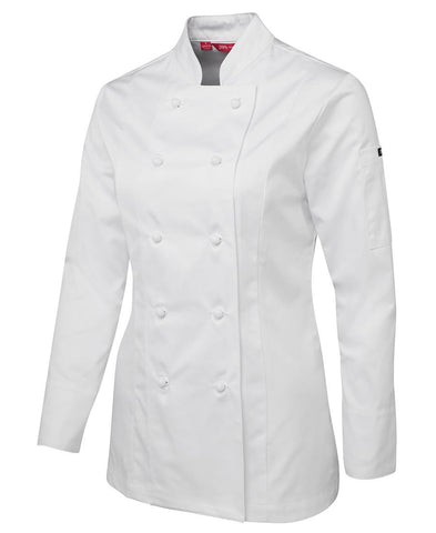 LADIES L/S CHEFS JACKET (5CJ1)