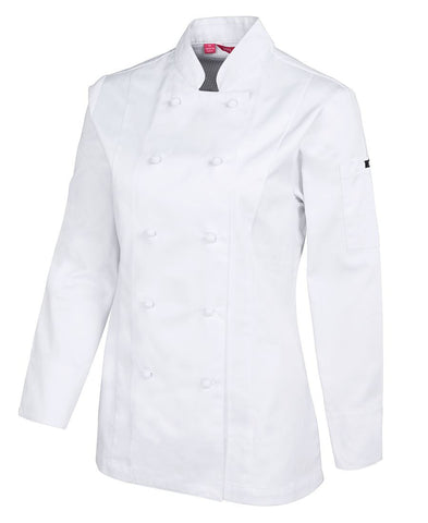 Ladies Vented L/S Chef's Jacket (5CVL1)