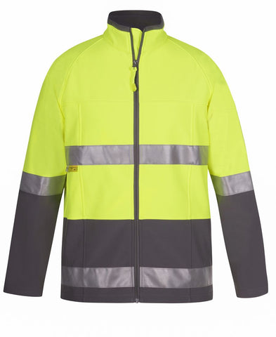 Hi Vis Day/Night Softshell Jacket (6D4LJ)