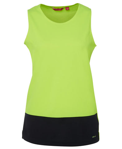 Ladies Hi Vis Traditional Singlet (6HTS1)