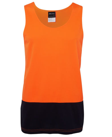 Hi Vis Traditional Singlet (6HTS)