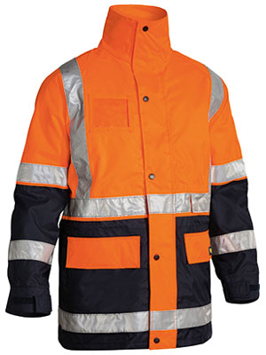 3M Taped Hi Vis 5 in 1 Drill Jacket (BK6975)