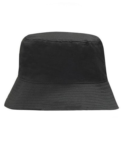 Breathable Poly Twill Bucket Hat (4107)