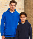 Youth Classic Poly Cotton Fleece Hoodie (SW5200B)