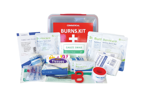 Medium Commercial Burn's First Aid Kit