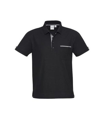 Edge Contrast Check Polo (P305MS/P305LS)
