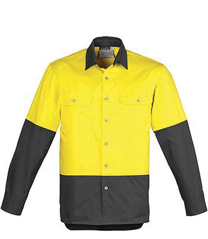 Day Only Long Sleeve Industrial Shirt (ZW122)