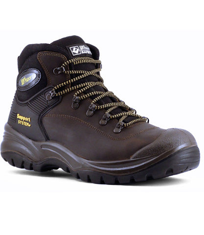 Grisport Contractor - Brown Safety Shoe/Boot (GR703BR)