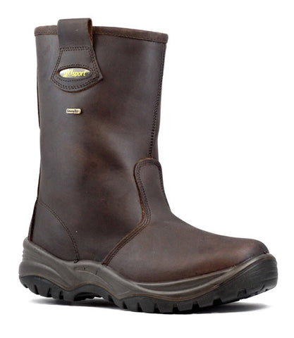 Verona - Brown Safety Boot (GR70299)