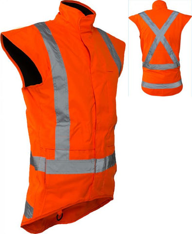 StormPro TTMC-W17 X-Back Fleece Lined Vest (PCR4011)