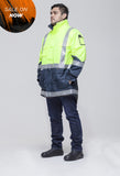 Hi Vis 2-Way Cyclone Jacket (VD2WSJ)