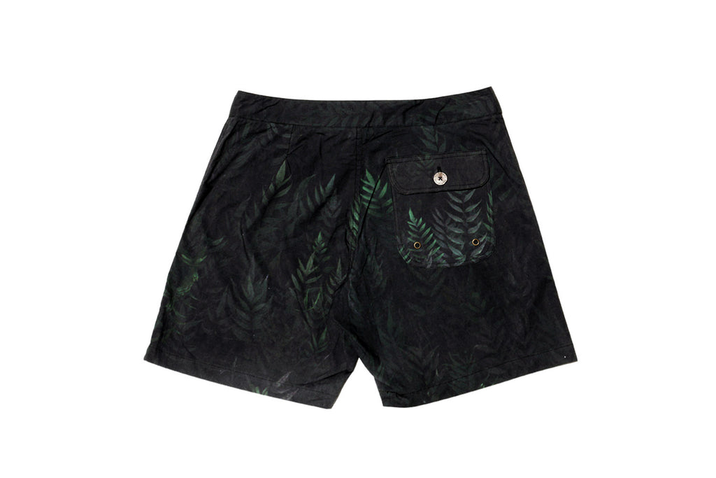 Java Fern Boardshort - Black