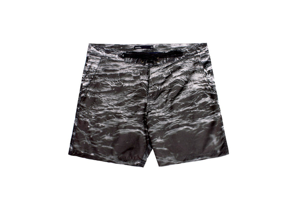 Rainy Seas Boardshort - Black