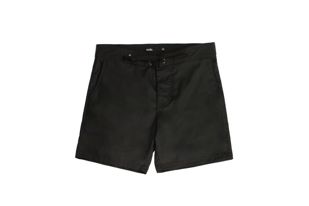 Sehari Boardshort - Black