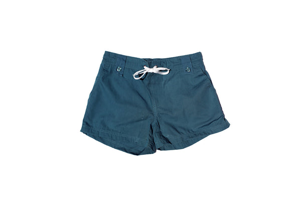 Womens Beach Shorts - Teal