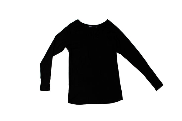 Womens Scoop Tee - Black