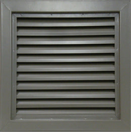 Air Louvers Galvanized 800 Series Inverted Y-Blade Louver